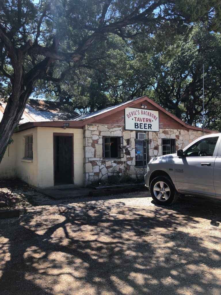Best dive bar in the Hill Country ~ Outside My Front Door